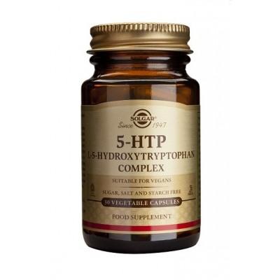5 HTP Cápsulas vegetales de Solgar SOLGAR  Estados emocionales, ansiedad, estrés, depresión, relax salud.bio