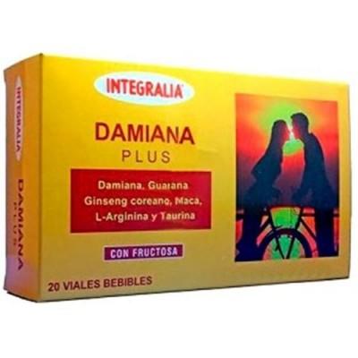 Damiana Plus 20 viales bebible de Integralia INTEGRALIA 337 Libido hombre y mujer salud.bio
