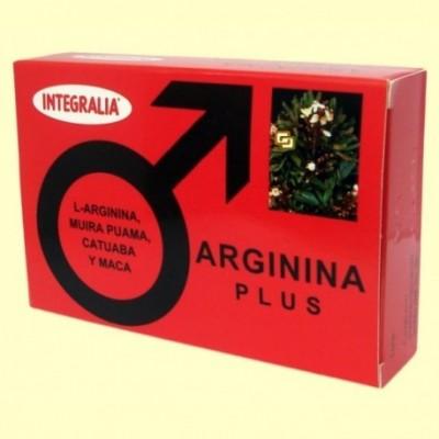 Arginina Plus 60 Cápsulas de Integralia INTEGRALIA 355 Salud Sexual y Fertilidad salud.bio