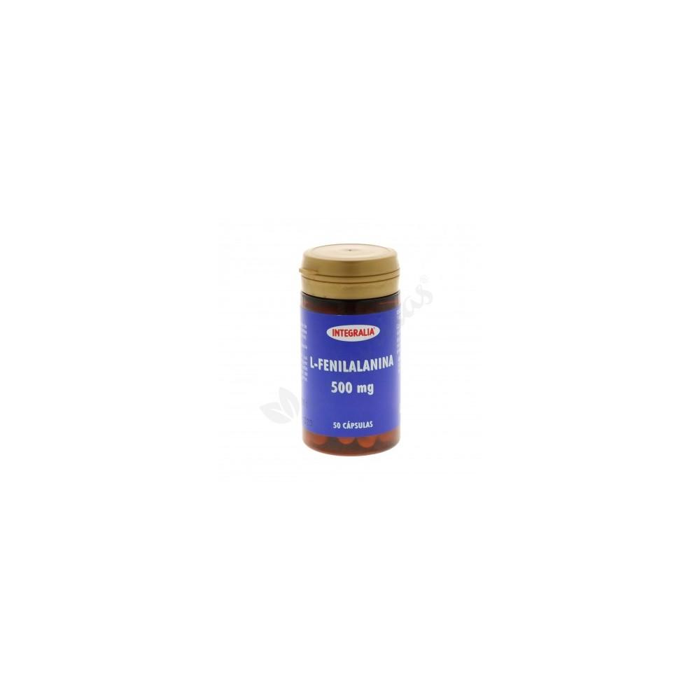L-Fenilalanina 50 cápsulas de Integralia INTEGRALIA 361 Aminoácidos salud.bio