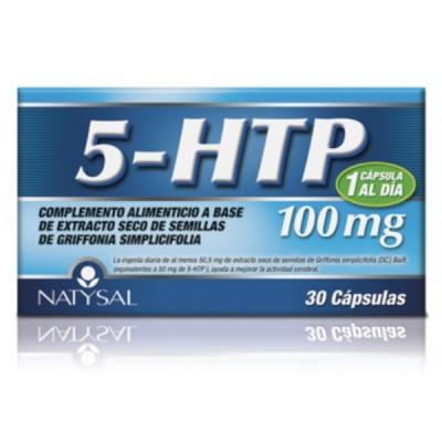 5-HTP 100 mg 30 capsulas Natysal 13484 Inicio salud.bio
