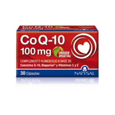Coencima Q-10 + Bioperine 100 mg 30 capsulas Natysal 13503 Inicio salud.bio