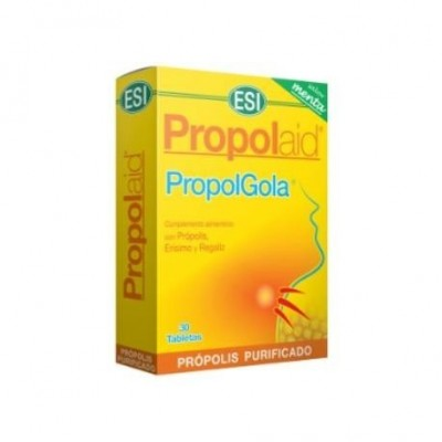 Propolaid Propolgola Menta de ESI ESI LABORATORIOS 21011101 Acción benéfica garganta y pecho salud.bio
