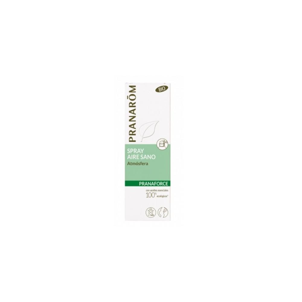 Pranaforce Spray Atmos de Pranarom Pranarom  Acción benéfica garganta y pecho salud.bio