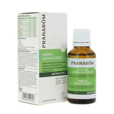 Aromaforce Solución Defensas Naturales Pranarom 30 ml. Pranarom  Sistema inmunitario salud.bio