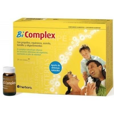 Bi-Complex 20 viales de Herbora Herbora 501001 Defensas y energía salud.bio