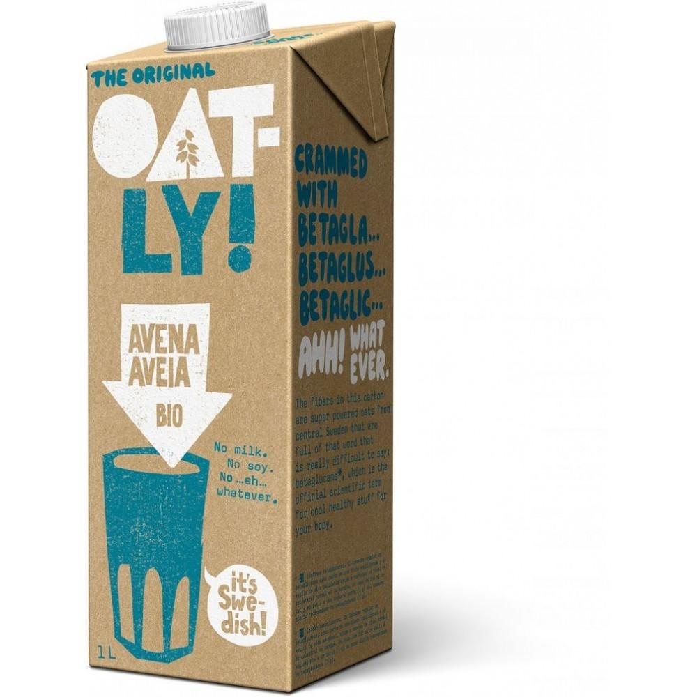 Bebida de Avena Original 1l. ECO Oatly OATLY! 0070030238 Bebidas vegetales salud.bio