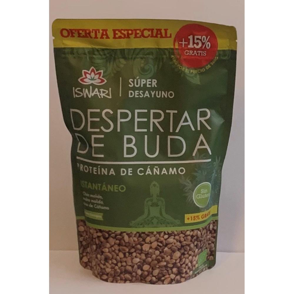 DESPERTAR DE BUDA CAÑAMO 360GR BIO de ISWARI iswari  Super Alimentos salud.bio