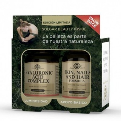 Value Pack Solgar Beauty Inside (PPU(60) + AH COMPLEX) SOLGAR 99130 Piel, Cabello y Uñas, Complementos y Vitaminas salud.bio
