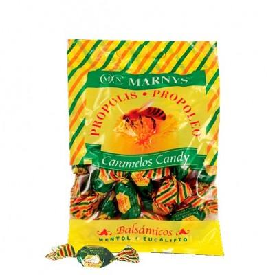 Caramelos de Propóleo con Miel, Mentol y Eucalipto Marnys  Caramelos salud.bio