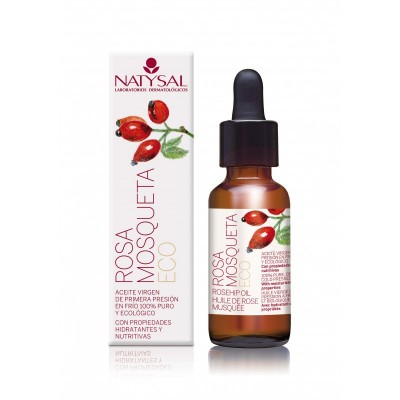 Aceite de Rosa mosqueta ECO de Natysal Natysal  Cosmética Natural salud.bio