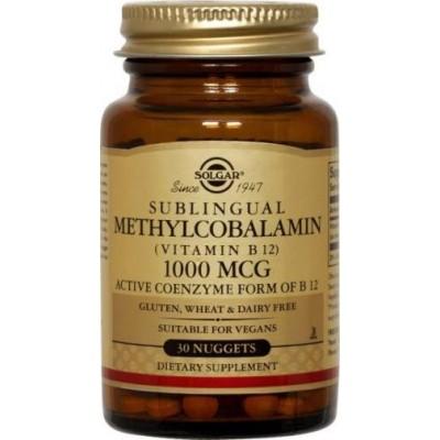 Metilcobalamina 1000mcg 30Comp Masticables B12 solgar SOLGAR 051950 Inicio salud.bio