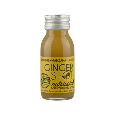 Ginger Shot diario Jenjibre, Manzana y Limón de Nutrisola Nutrisola 843409100113 ECO (ecologico), BIO (biologico), Organico s...