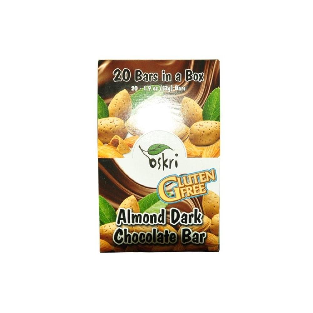 BARRITA ALMENDRA-CHOCOLATE NEGRO ECO-SALIM INS 35309 Barritas Snack salud.bio