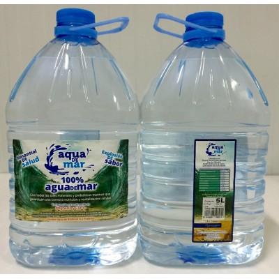 Agua de Mar pura 5 litros Aqua de Mar Aqua de Mar ( Vizmaraqua S.L.) AQ 38006 Sistema inmunitario salud.bio