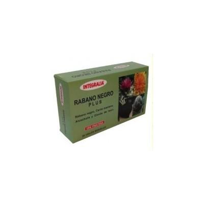 Rábano Negro Plus Integralia INTEGRALIA 322 Higado y sistema hepatobiliar salud.bio