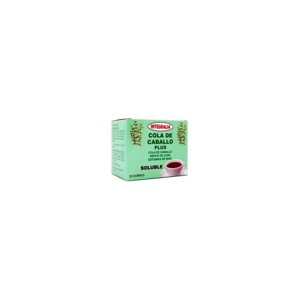 Integralia cola de caballo plus soluble 20 sobres INTEGRALIA 279 Infusiones salud.bio
