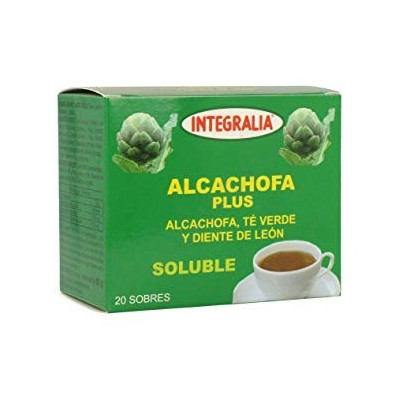 Integralia Alcachofa Plus soluble 20 sobres INTEGRALIA 277 Infusiones salud.bio