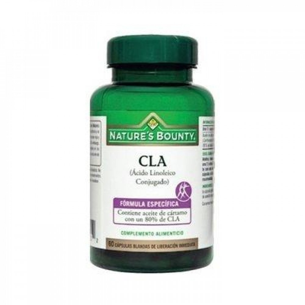 CLA (Ácido Linoléico Conjugado) Nature´s Bounty NATURE´S BOUNTY 03603 Inicio salud.bio