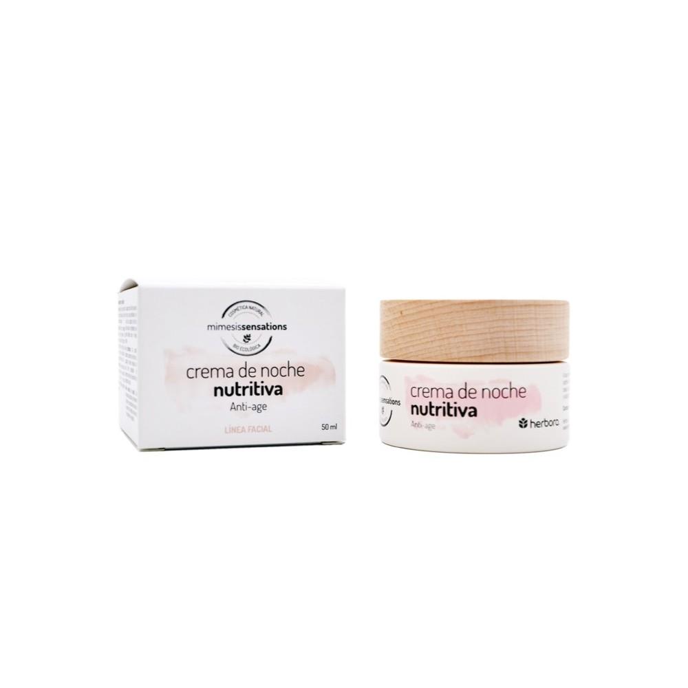 Crema de noche nutritiva Anti-age Herbora h11101 Cosmética Natural salud.bio