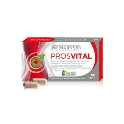 Prosvital de Marnys Marnys MN109 Bienestar urinario. Ayuda en el bienestar urinario. salud.bio