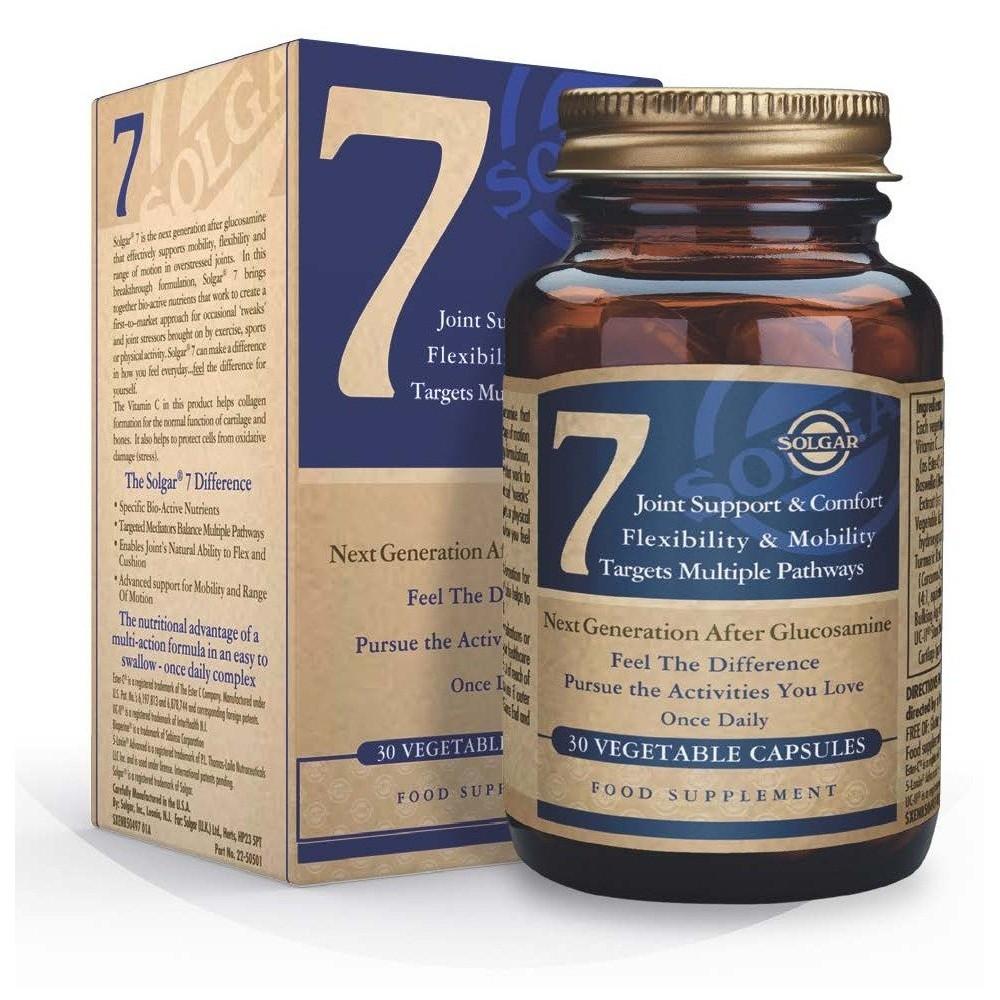 Solgar 7 30 cápsulas vegetales SOLGAR 1650497 Inicio salud.bio