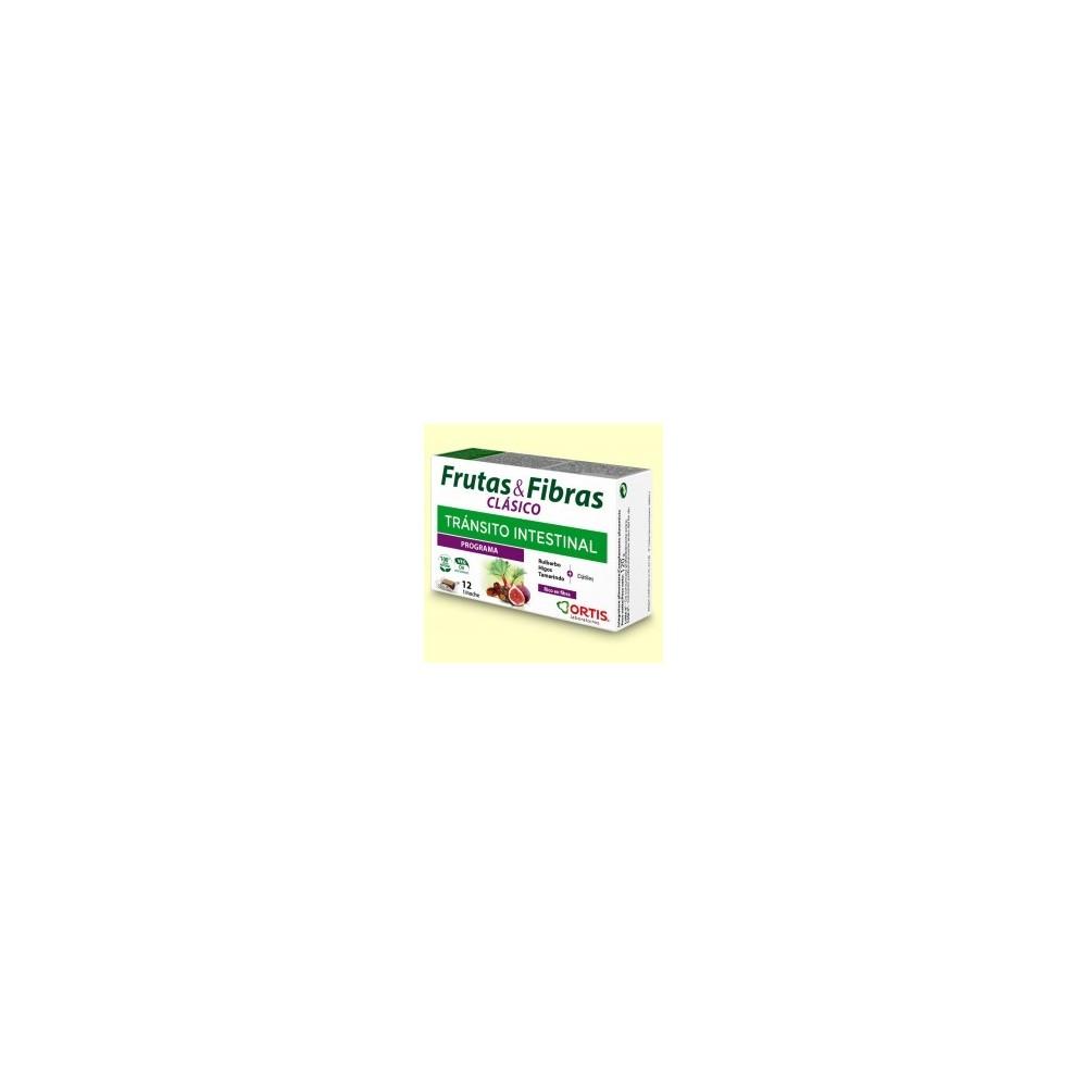 Frutas y Fibras Clásico de Ortis cubos masticables Ortis Laboratorios 387 Inicio salud.bio