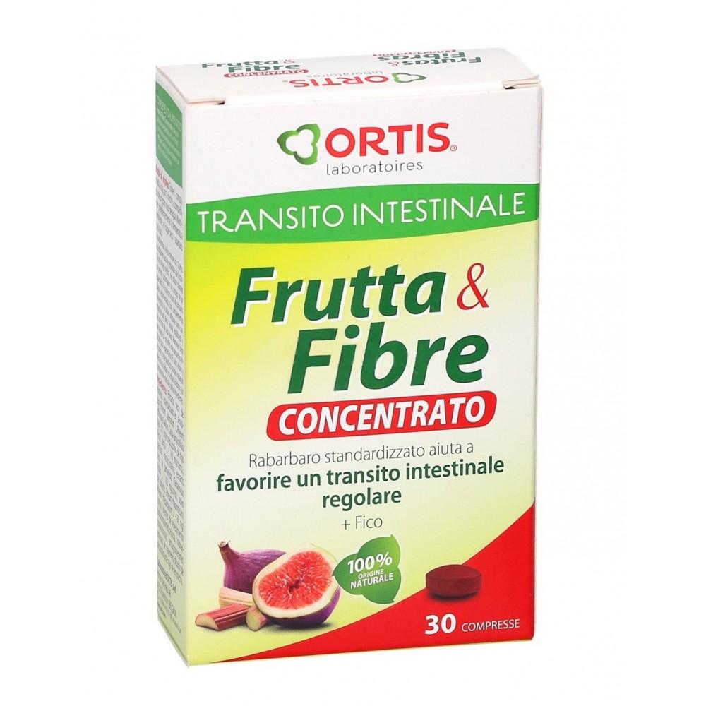 Frutas y Fibras Concentrado de Ortis Comprimidos Ortis Laboratorios 30504 Inicio salud.bio