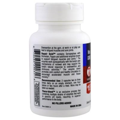 Repair Gold de Enzymedica Enzymedica ENZ29031 Gainers: Los Mejores Suplementos Para Ganar Masa Muscular salud.bio