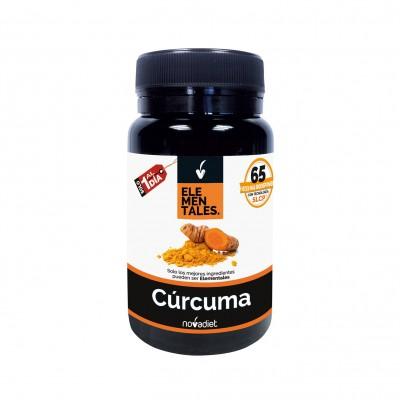 Cúrcuma - Elementales de Novadiet Novadiet 53502 Suplementos Naturales acción Analgesica, Antiinflamatoria, malestar, dolor s...