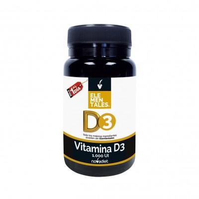 Vitamina D3 - Elementales de Novadiet Novadiet 53503 Vitaminas y Minerales salud.bio