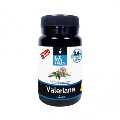 Valeriana - Elementales de Novadiet Novadiet 53516 Estados emocionales, ansiedad, estrés, depresión, relax salud.bio