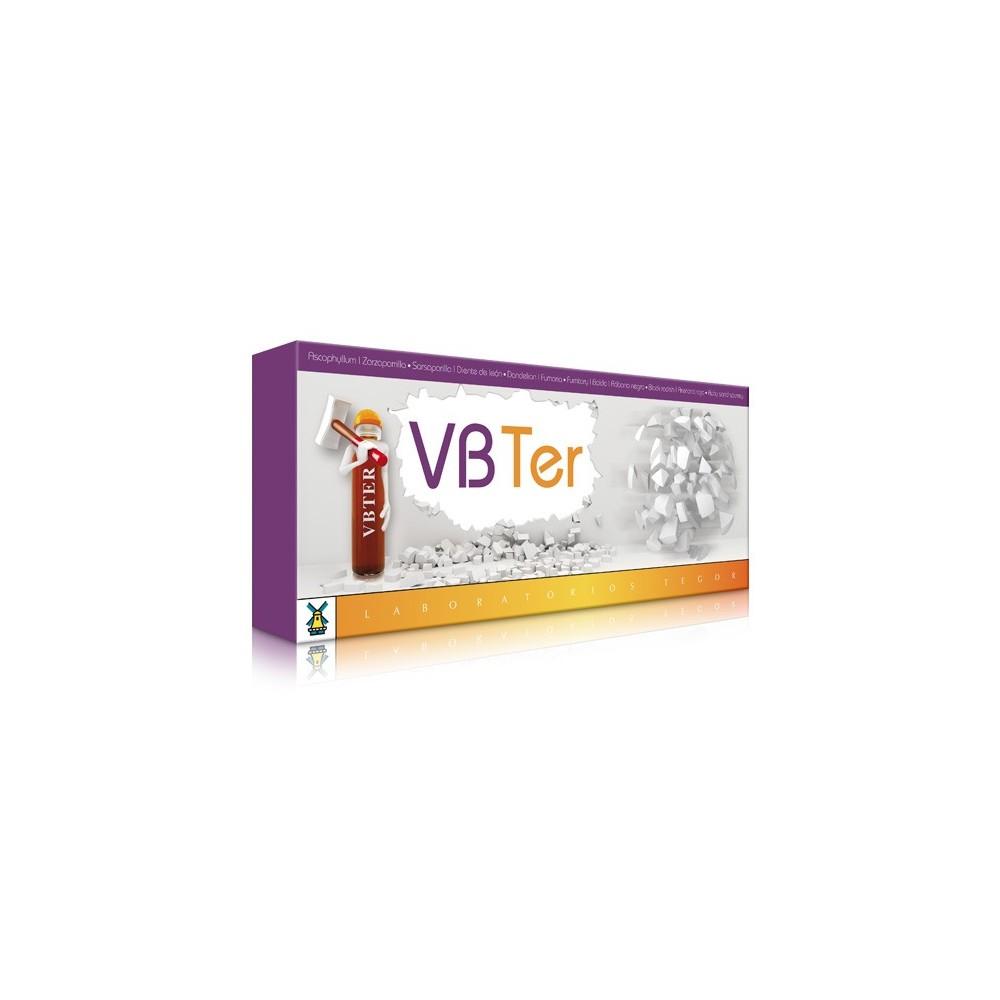VB-Ter ROMPEPIEDRAS de Laboratorios Tegor Tegor T03030 Bienestar urinario. Ayuda en el bienestar urinario. salud.bio
