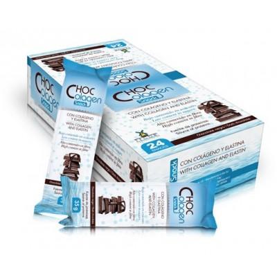 Chocolagen barrita colageno y elastina de Tegor Tegor T30623 Articulaciones, Huesos, Tendones y Musculos, componen el Aparato...