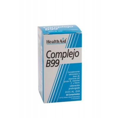 Complejo B99 de Health Aid Health Aid 801030 Vitamina B salud.bio