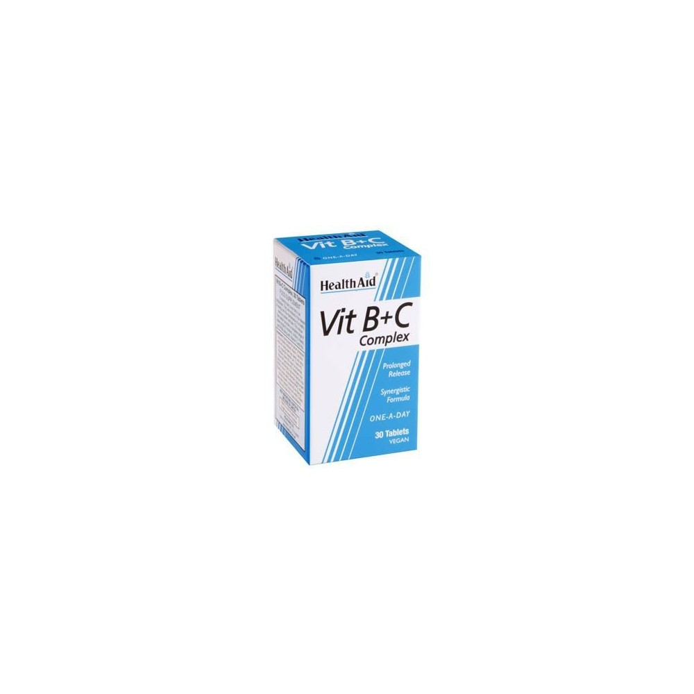 Vit B+C Complex de Health Aid Health Aid 801035 Vitamina B salud.bio