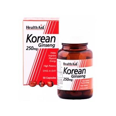 Ginseng Coreano de Health Aid Health Aid 802260 Cansancio, fatiga, astenia primaveral salud.bio