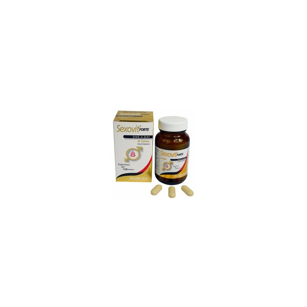 Sexovit Forte de Health Aid Health Aid 803445 Libido hombre y mujer salud.bio
