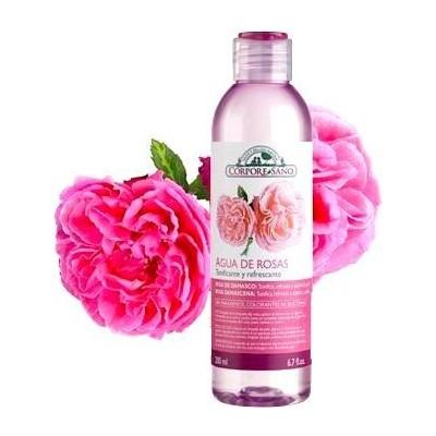 Tónico Agua de Rosas Corpore Sano 200 ml Corpore Sano  CS 35778 Tónicos y Agua Miscelar salud.bio