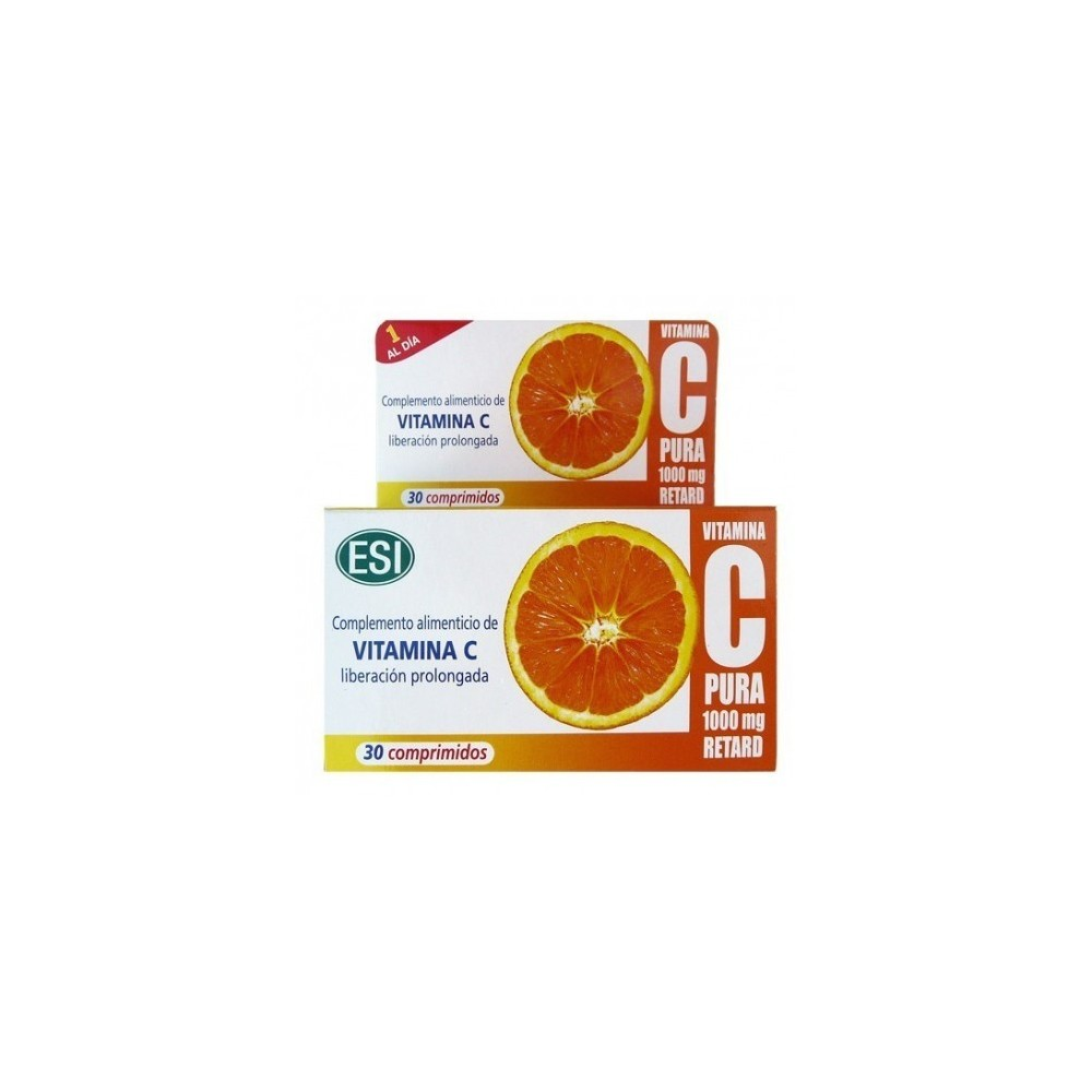 Vitamina C 1000mg Retard de ESI ESI LABORATORIOS 33010801 Vitamina C salud.bio