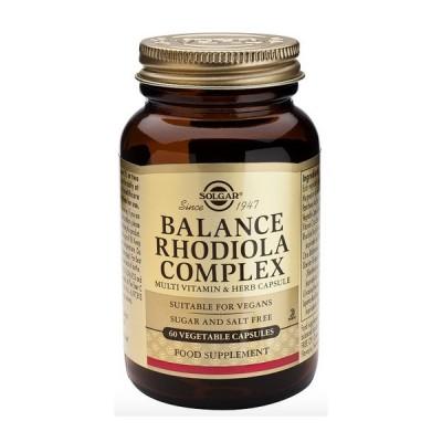 Balance Rhodiola Complex 60 Cápsulas de Solgar SOLGAR 1650979 Inicio salud.bio