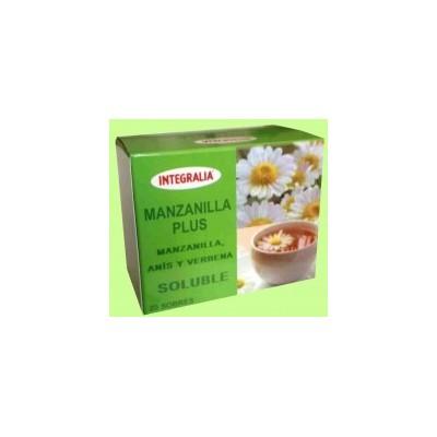 Integralia Manzanilla Plus Tisana soluble 20 sobres INTEGRALIA 281 Infusiones salud.bio