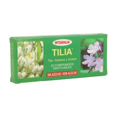 Tilia comprimidos Masticables de Integralia INTEGRALIA 4 insomnio y descanso salud.bio