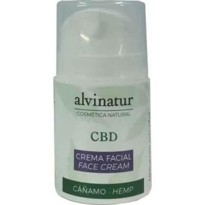 Crema Facial CBD de Alvinatur alvinatur Crema Facial CBD Cosmética Natural salud.bio
