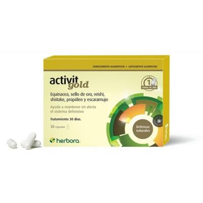 ACTIVIT GOLD 30 CAPSULAS de Herbora Herbora 501022 Inicio salud.bio