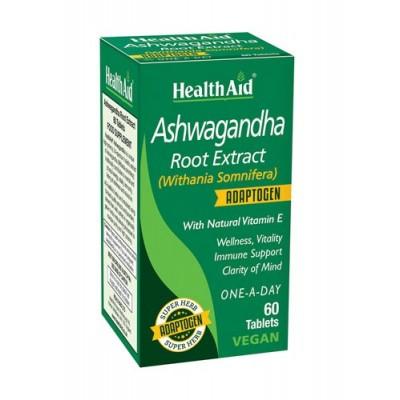 Ashwagandha (Withania somnifera) root extract de HealthAid Health Aid 804003 Estados emocionales, ansiedad, estrés, depresión...