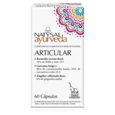 Articular Ayurveda de Natysal Natysal 13537 Suplementos Naturales acción Analgesica, Antiinflamatoria, malestar, dolor salud.bio