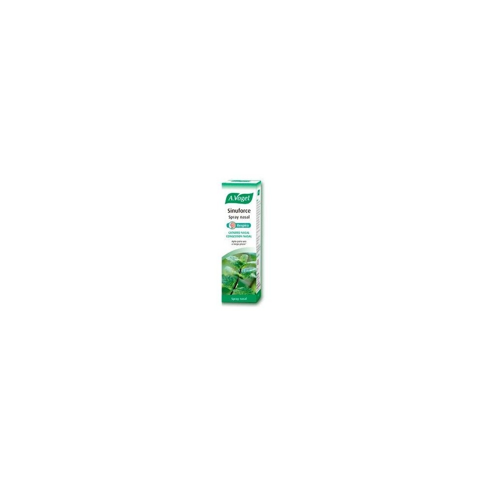 Sinuforce Spray Nasal de A.Vogel A.VOGEL BIOFORCE 1160 Sistema respiratório salud.bio