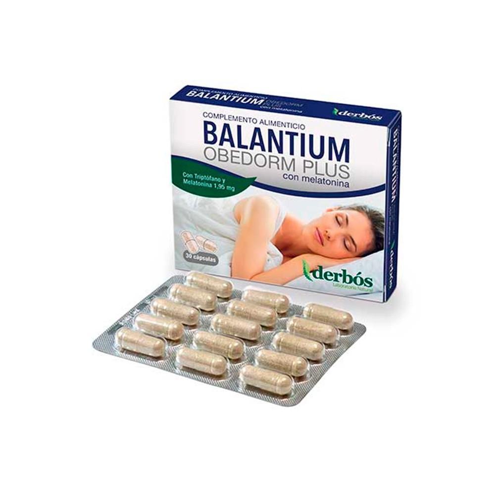 Balantium Orbedon Plus 30 cápsulas de derbós derbós laboratorio natural 168 insomnio y descanso salud.bio