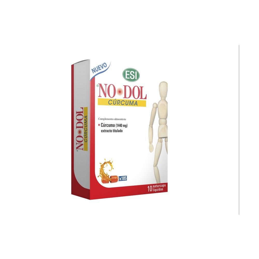 NO-DOL CÚRCUMA NATURCAPS de ESI ESI LABORATORIOS  Suplementos Naturales acción Analgesica, Antiinflamatoria, malestar, dolor ...